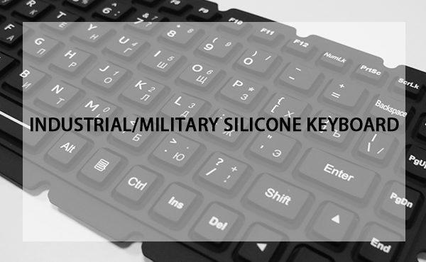 Silicone keyboard